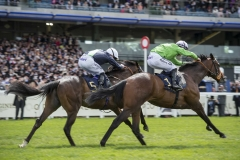 ARTHUR KITT (RIGHT) WINNING THE CHESHAM STAKES FROM NATE THE GREAT.ASCOT 23-6-18.Photo © George Selwyn +44 (0)7967 030722116 Wellington Parade Kent UK CT14 8AF.