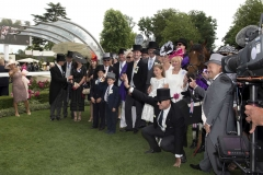COOLMORE AND AUSTRALIAN CONNECTIONS OF MERCHANT NAVY, IN THE WINNERS ENCLOSURE.ASCOT 23-6-18.Photo © George Selwyn +44 (0)7967 030722116 Wellington Parade Kent UK CT14 8AF.